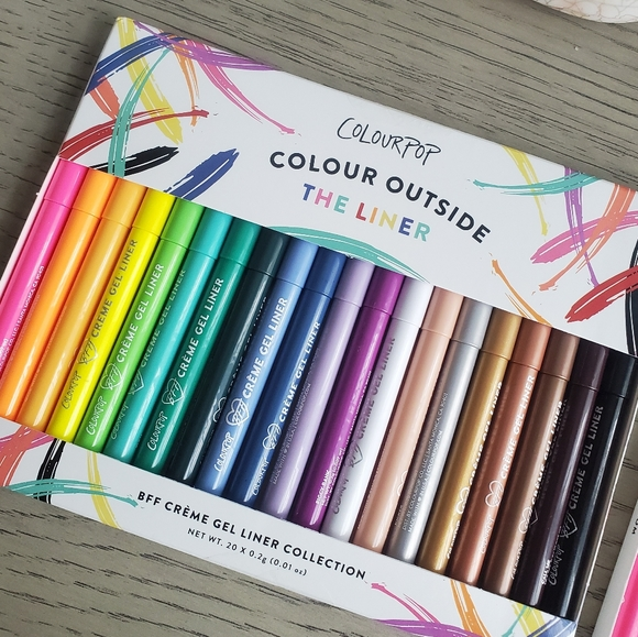 Colourpop Other - SOLD Colour outside the liner NEW!!!